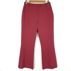 Topshop Womens US Size 6 Cropped Trousers Solid